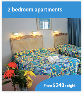 Book 2 bedroom accommodation